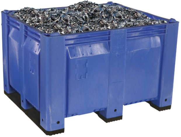 MACX Solid Blue - Metal Recycling