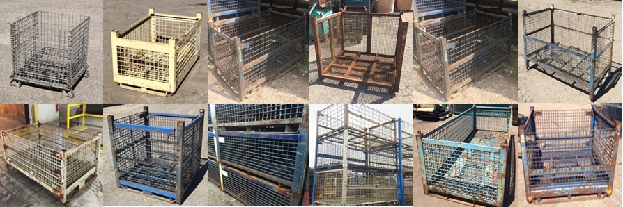 Used Wire Baskets in Stock